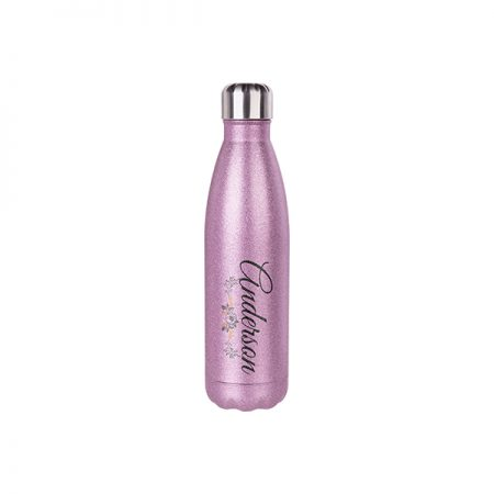 Glitter Stainless Steel 500ml Bottle